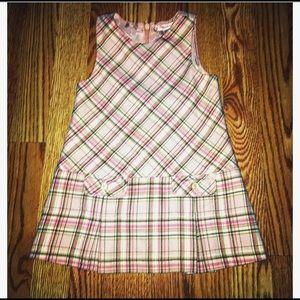 ToddlerJanie and Jack plaid dress